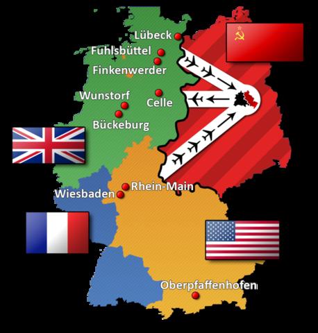Berlin Blockade (ends May 1949)