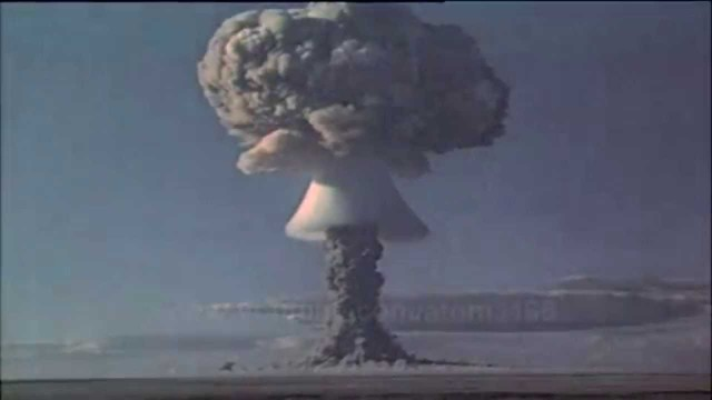 USSR Explodes First H-bomb