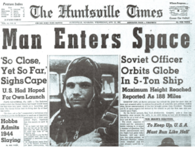 The Beginning of the Space Race