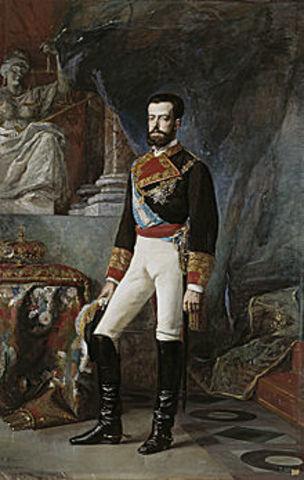 La monarquía de Amadeo I