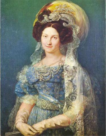 MARÍA CRISTINA OF THE TWO SICILIES(1806-1878)
