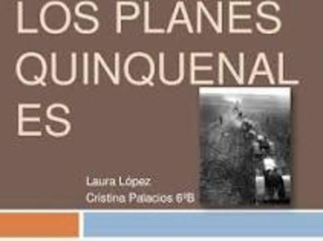 Planes quinquenales
