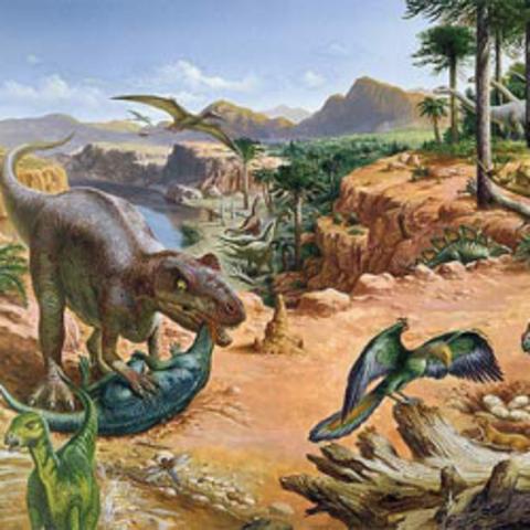 Jurassic 195-136 M