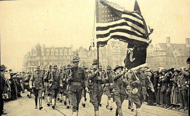 Entrada de EE.UU. en la guerra