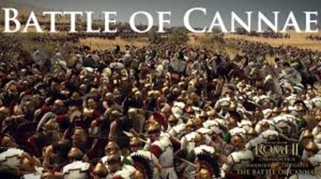 Second Punic War - Battle of Cannae