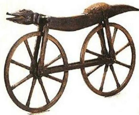 The Hobby Horse bicycle was Invented