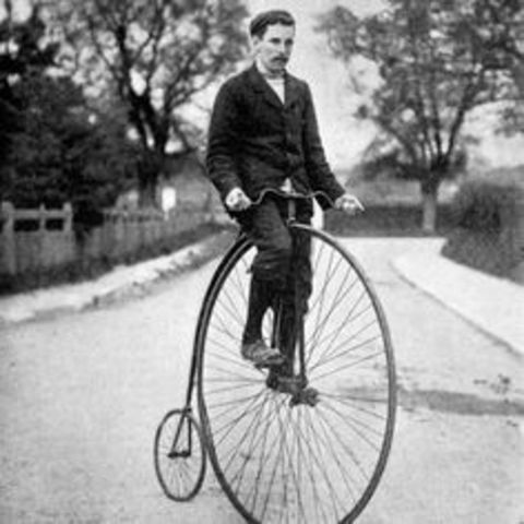 The Penny-farthing was built.