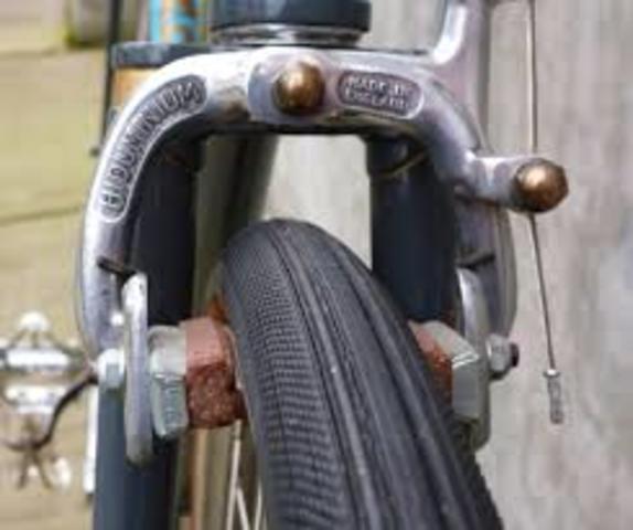 Bicycle brakes were Invented