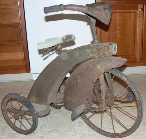 The Tricycle was Invented