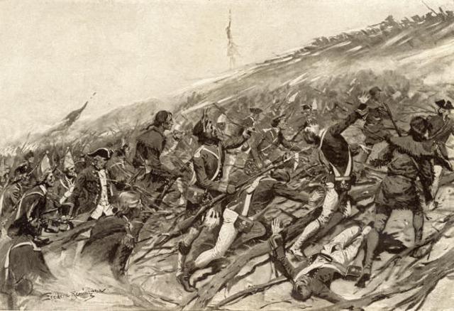 Fort Ticonderoga Taken