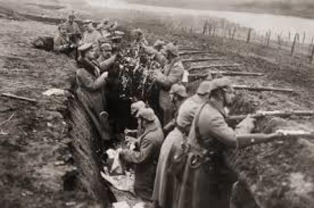 Guerra de posiciones (1914-1917)