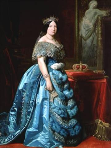 El reinado de isabel; La decada moderada(1844-1854)