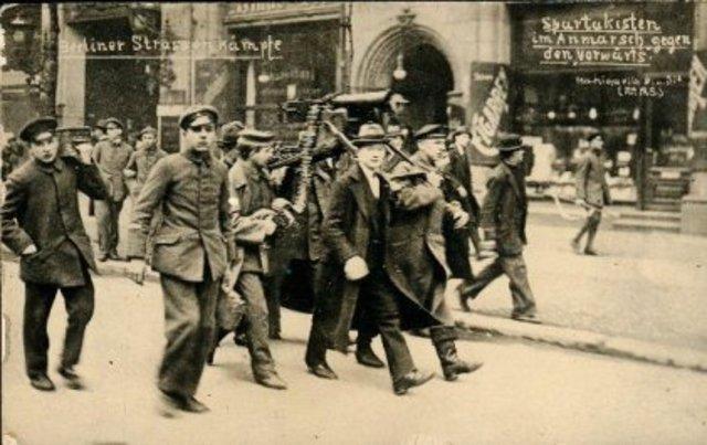 La guerra civil y el comunismo de guerra