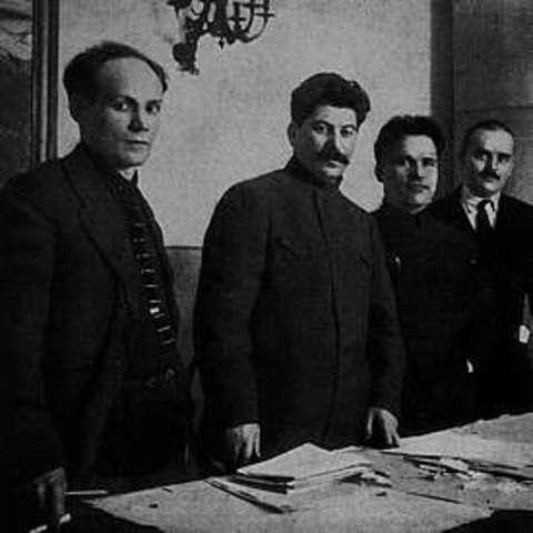 El ascenso de Stalin