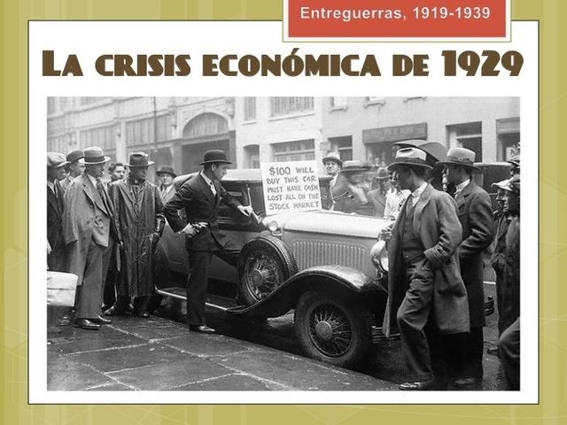 El origen de la crisis del 29