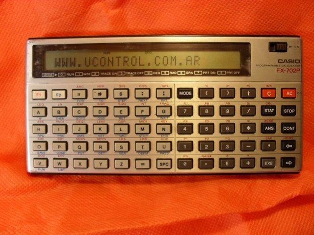 Calculadora Programable (CASIO)