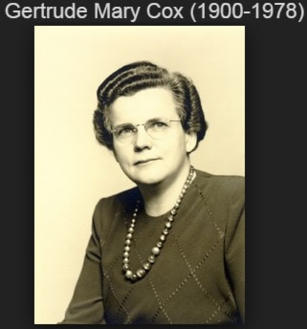 Gertrude Mary Cox