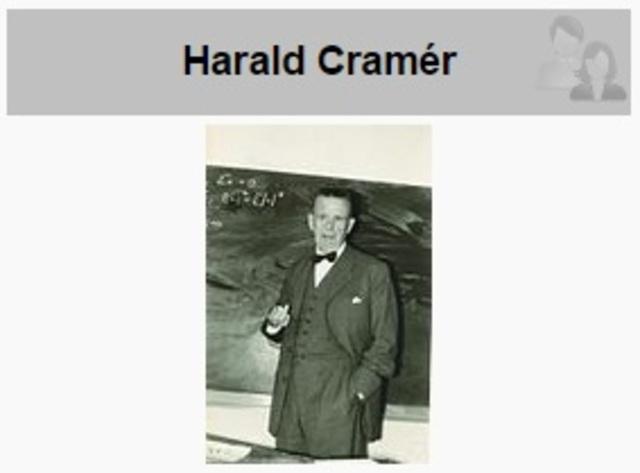 Harald Cramér