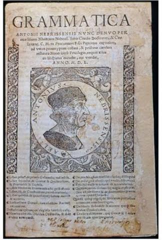Primera Gramática Castellana