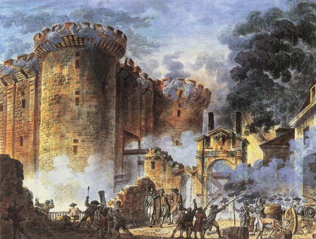 El Asalto de la Bastilla