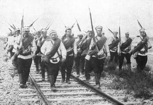 Estallido de la primera guerra mundial