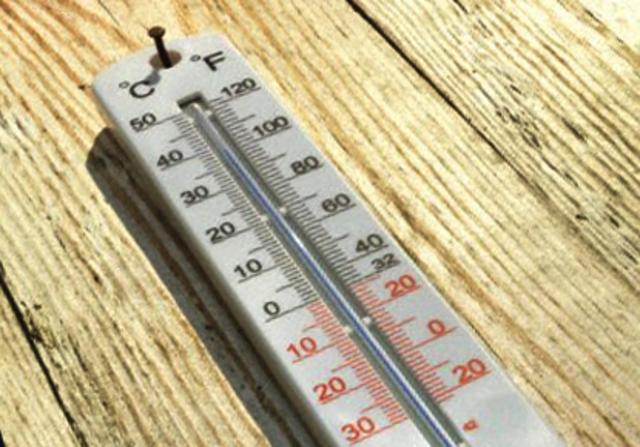 El termómetro de mercurio