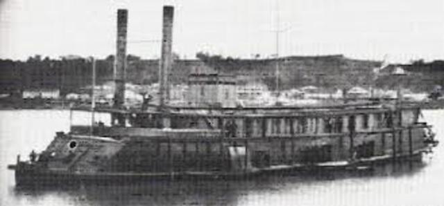 Primer barco fabricado con hierro