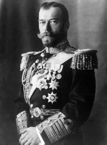 TZAR NICHOLAS II