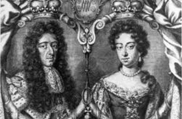 Mary and William take the English Throne