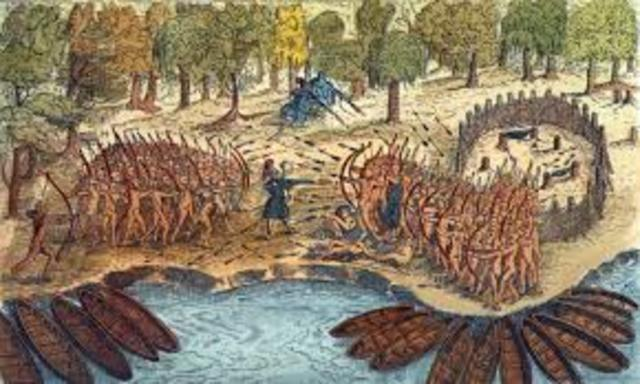 Anishinabe and French Truce with Haudenosaunee
