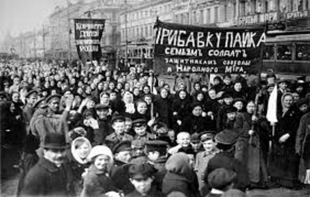 La Revolucion de febrero  de 1917