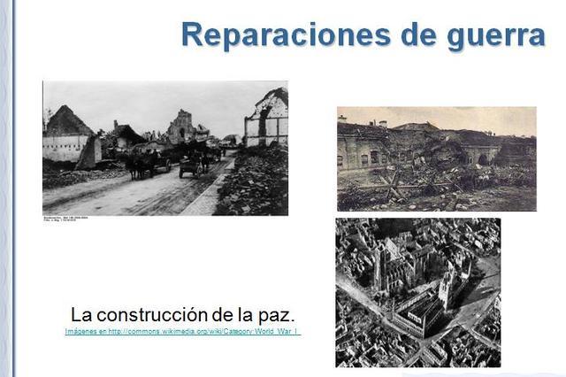 REPARACIONES DE GUERRA
