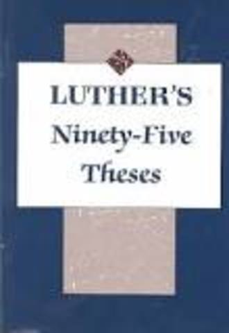 ninety-five theses(martin)