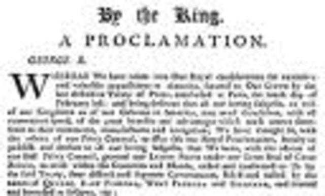 Proclamation Acts
