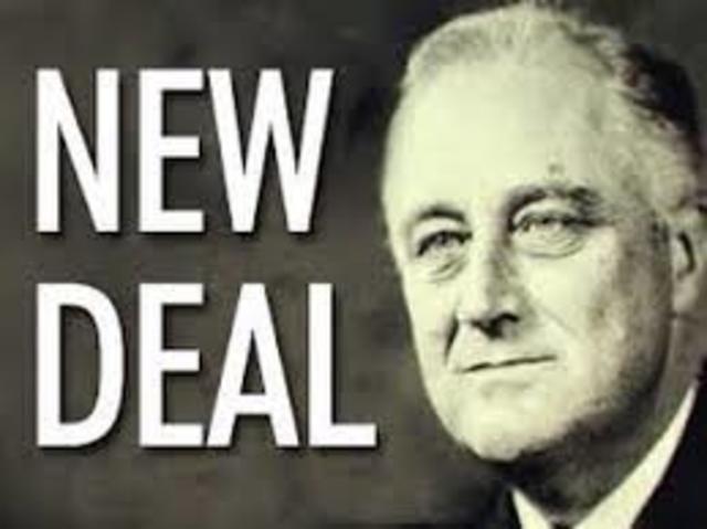 Medidas contra la crisis.El New Deal