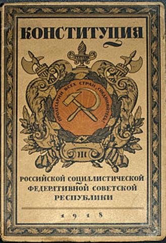 Constitución URSS 1924