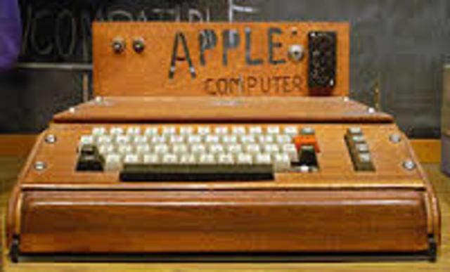 APPLE 1, la primera computadora personal.