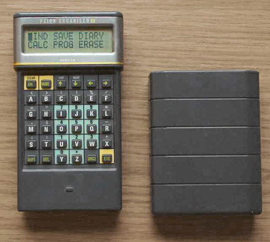 La compañía Psion lanzó la serie Psion Organiser