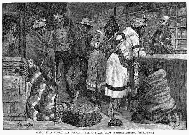Britain Establishes The Hudson's Bay Company