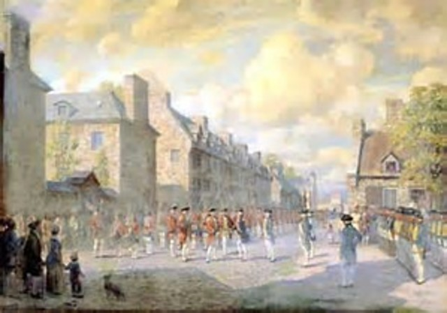 New France Became a British Colony