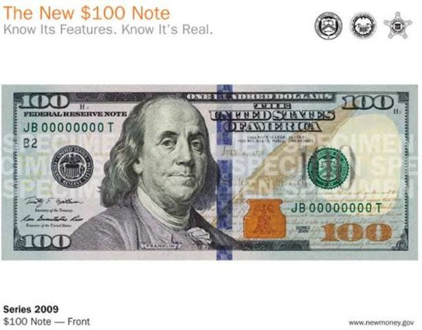 New $100 Note