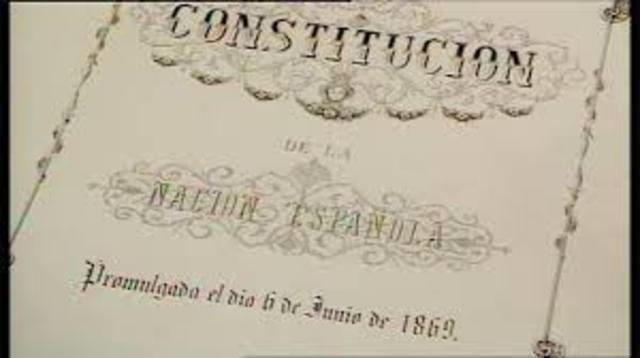 CONSTITUCION DE 1.869