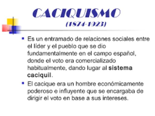 CACIQUISMO