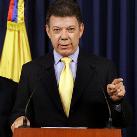 Santos hará su primera visita como presidente a Cundinamarca en el municipio de Madrid