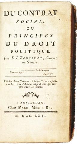 Jean Jacque Rousseau - The Social Contract