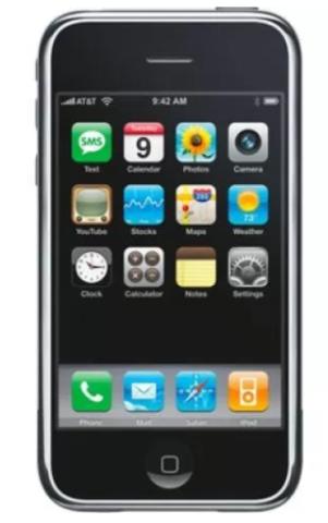 iPhone OS 1 IOS