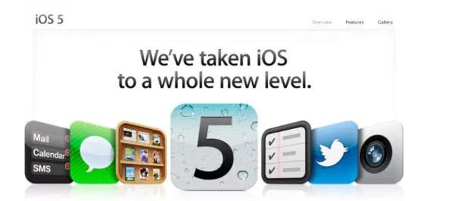 iOS 5: Llevamos iOS a un nivel totalmente nuevo