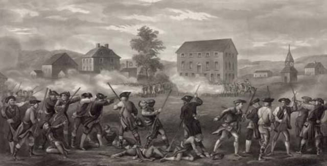 Day 1 - Battles of Lexington and Concord