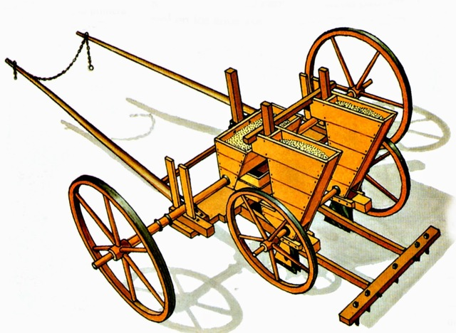 Invención de la sembradora.