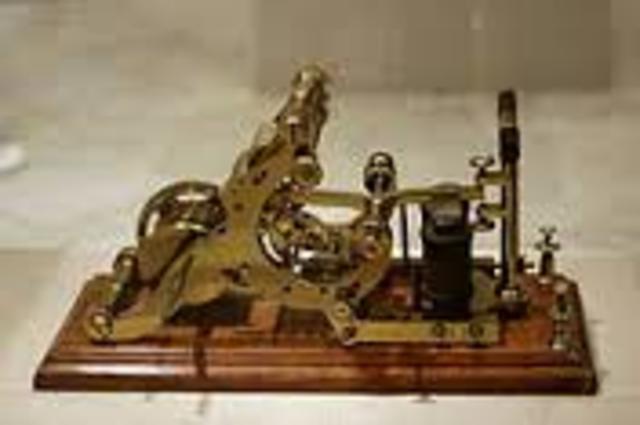 1.-Primer arado de acero.2.-Patentación del telégrafo.